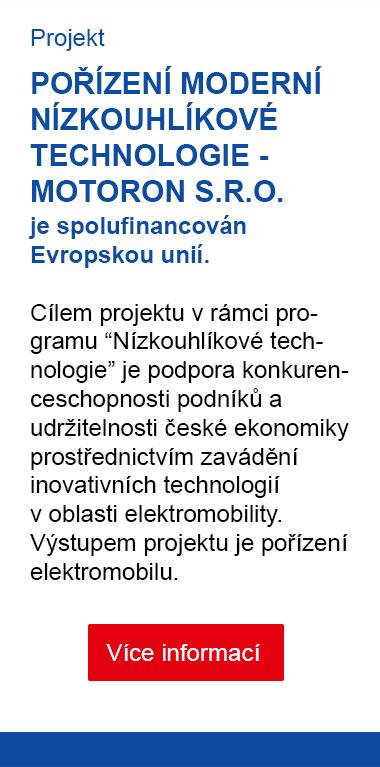 Motoron s.r.o. [projekt Elektromobility]